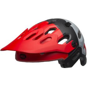 Bell Super 3R MIPS Helmet downdraft matte crimson/black